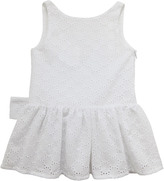 Lili Gaufrette Broderie anglaise lace sundress