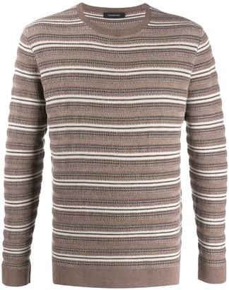 Ermenegildo Zegna Striped Knit Jumper