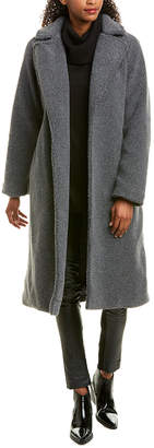 French Connection Fuzzy Coat