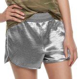 Fire Juniors' Shiny Satin Shorts