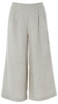 White Stuff Heathered Culotte, Grey