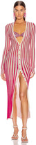 Jacquemus La Robe Jacques in Pink Striped | FWRD