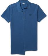 Loewe Asymmetric Cotton-Piqué Polo Shirt