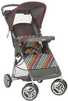 Cosco Lift and Stroll Convenience Stroller, Rainbow Dots by