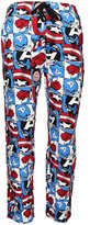 Marvel Captain America All Over Print Mens Sleep Pants