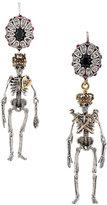 Alexander McQueen Queen King earrings