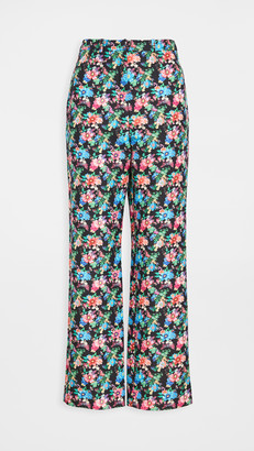 Paco Rabanne Floral Trousers