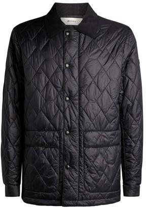 Ermenegildo Zegna Diamond-Quilted Jacket