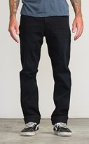 RVCA Men's Daggers Jean Blue Black