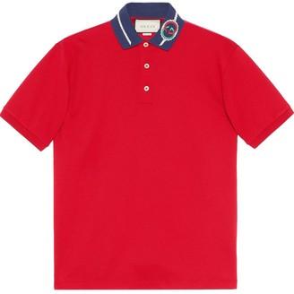 Gucci Interlocking G polo shirt