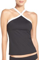 LaBlanca Women's La Blanca Block My Way Tankini Top