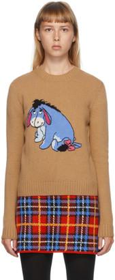 Miu Miu Tan Disney Edition Eeyore Sweater