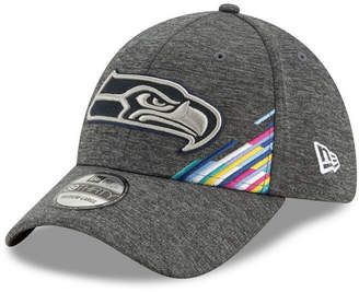 New Era Seattle Seahawks On-Field Crucial Catch 39THIRTY Stretch Fitted Cap