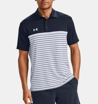 Under Armour Men's UA Stripe Mix-Up Polo