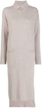 Lorena Antoniazzi Knitted Midi Dress