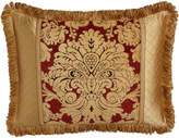 Horchow Austin Horn Classics Standard Bellissimo Pieced Sham with Fringe