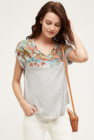 Anthropologie Festoon Tee