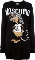 Moschino Rat-A-Porter jumper dress - women - Virgin Wool - XXS