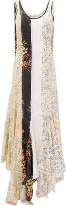 J.W.Anderson Floral Patchwork Dress