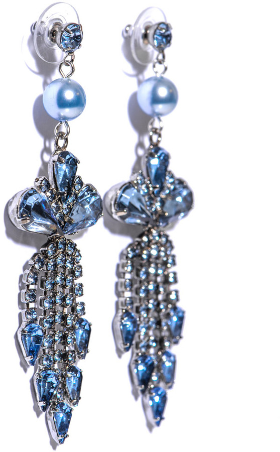 Tom Binns Regal rocker chandelier earrings