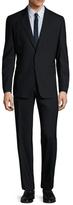Paul Smith Wool Solid Notch Lapel Slim Fit Suit