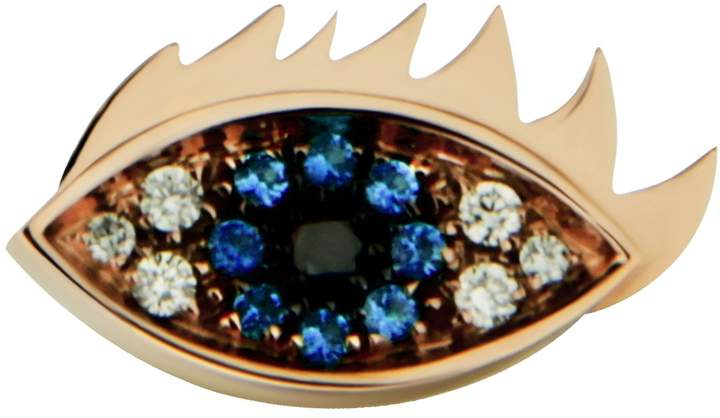 Delfina Delettrez Eyes On Me Black Diamond Stud Earring