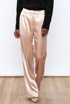 Hommage Satin Flare Pants