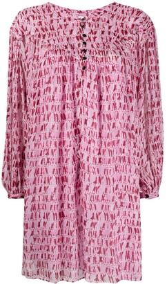Etoile Isabel Marant Longsleeved Shift Dress