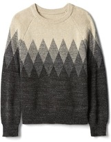 Gap Diamond knit pullover sweater