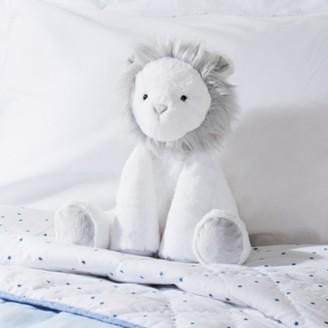 The White Company Lion Medium Toy, White, One Size