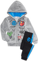 Marvel 2-Pc. Avengers Hoodie and Pants Set, Toddler Boys (2T-5T)