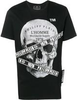 Philipp Plein platinum cut round neck T-shirt