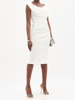 Vivienne Westwood - Ginnie Draped Satin Dress - White