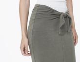 James Perse Tie Front Skirt
