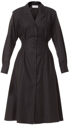 Talented Relaxed Lapel Dress with Side Pockets