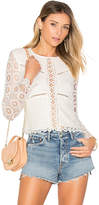 Lovers + Friends Lotus Top in White. - size S (also in XS)