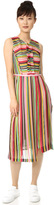 No.21 No. 21 Striped Sleeveless Dress