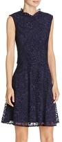 Betsey Johnson Illusion Detail Lace Dress