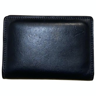 Louis Vuitton Pocket Organizer Black Leather Small bags, wallets & cases