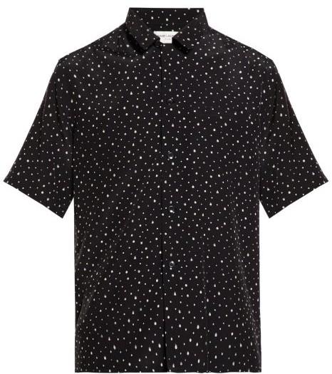 d2797aee9238c Mens Dot Print Shirt - ShopStyle