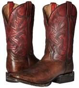 Stetson 11 Double Welt Wide Square Toe Cowboy Boots