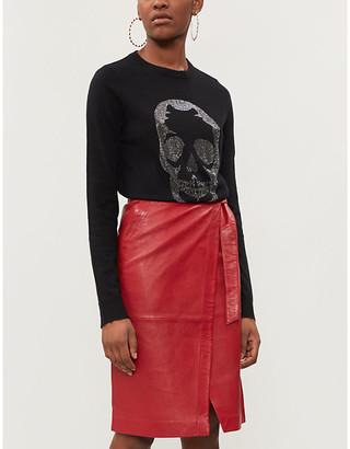 Zadig & Voltaire Miss Bis knitted cashmere jumper