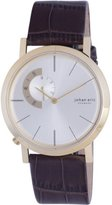 Johan Eric Men's JE1500-14-016 Randers Gold Ion-Plated Coated Stainless Steel Silver Sunray Dial Watch
