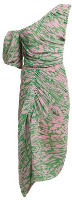 Preen by Thornton Bregazzi Jane Printed Georgette Dress - Womens - Pink Multi