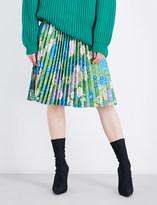 Balenciaga Tubular pleated skirt