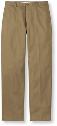 L.L. Bean Men's Wrinkle-Free Double LA Chinos, Natural Fit Plain Front