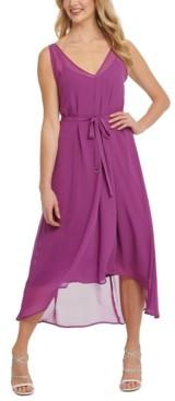 DKNY Sleeveless High-Low Dress