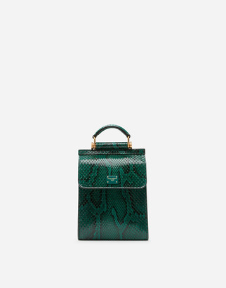 Dolce & Gabbana Python Sicily 58 Phone Bag