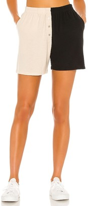 DONNI Duo Sweater Henley Short