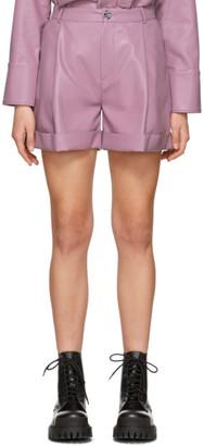 Isa Belle Aeron Purple Isabelle Shorts